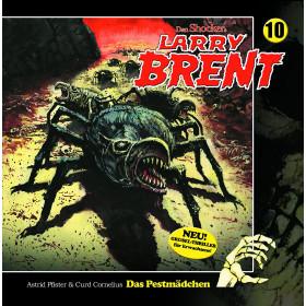 Larry Brent 10. Das Pestmädchen ( Hörbuch )