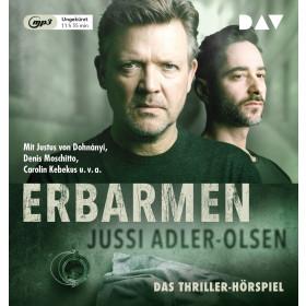 Jussi Adler-Olsen - Erbarmen. Carl Mørck, Sonderdezernat Q, Fall 1 (Hörspiel)