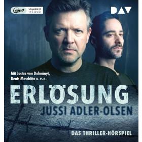 Jussi Adler-Olsen - Erlösung. Carl Mørck, Sonderdezernat Q, Fall 3