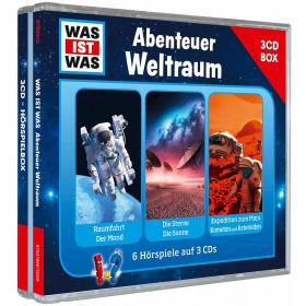 WAS IST WAS 3-CD-Hörspielbox Vol. 6: Abenteuer Weltraum