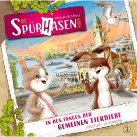 Die Spürhasen-Bande - Folge 3: In den Fängen der gemeinen Tierdiebe: Abenteuer in Hamburg
