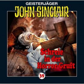 John Sinclair - Folge 039: Schreie in der Horror-Gruft