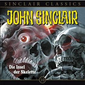 John Sinclair Classics 10 Die Insel der Skelette