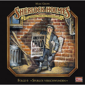 Sherlock Holmes (Titania) - 06 Spurlos verschwunden