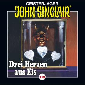 John Sinclair - Folge 119: Drei Herzen aus Eis
