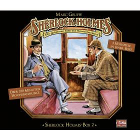Sherlock Holmes (Titania) Box 2: Im Schatten des Rippers / Das entwendete Fallbeil / Die Affenfrau