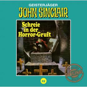 John Sinclair Tonstudio Braun - Folge 25: Schreie in der Horror-Gruft (2/3)