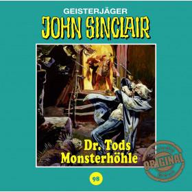 John Sinclair Tonstudio Braun - Folge 98: Dr. Tods Monsterhöhle