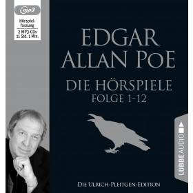 Edgar Allan Poe - Die Hörspiele - Folge 1-12: Die Ulrich-Pleitgen-Edition