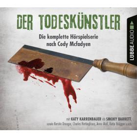 Cody Mcfadyen - Der Todeskünstler - Teil 1-4 - Die Hörspiel-Box