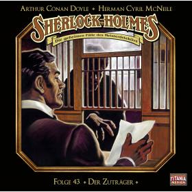Sherlock Holmes (Titania) - 43: Der Zuträger