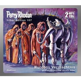 Perry Rhodan Silber Edition 107: Murcons Vermächtnis (2 mp3-CDs)
