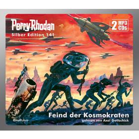 Perry Rhodan Silber Edition 141 Feind der Kosmokraten (2 mp3-CDs)