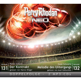 Perry Rhodan Neo MP3 Doppel-CD Episoden 131+132