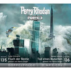 Perry Rhodan Neo MP3 Doppel-CD Episoden 135+136