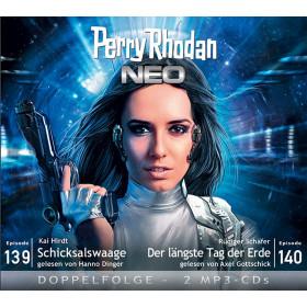 Perry Rhodan Neo MP3 Doppel-CD Episoden 139+140