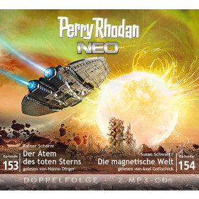 Perry Rhodan Neo MP3 Doppel-CD Episoden 153+154