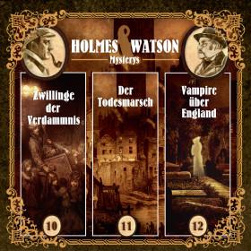 Holmes & Watson Mysterys Vol.4 Folge 10,11,12