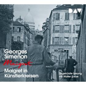 Georges Simenon - Maigret in Künstlerkreisen