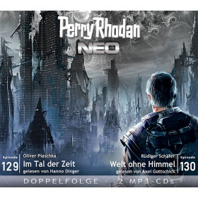 Perry Rhodan Neo MP3 Doppel-CD Episoden 129+130