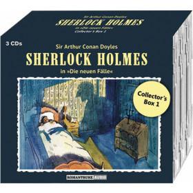 Sherlock Holmes: Die neuen Fälle: Collectors Box 01: Folge 01-03