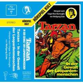 Tarzan - Folge 5: In der Gewalt der Leopardenmenschen (MC)