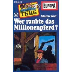 MC TKKG 033 Wer raubte das Millionenpferd?