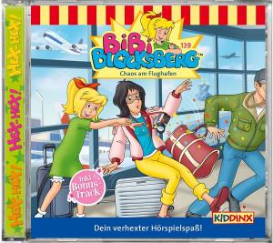 Bibi Blocksberg - Folge 139: Chaos am Flughafen (CD)