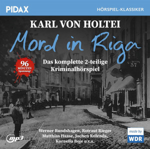 Pidax Hörspiel Klassiker - Mord in Riga