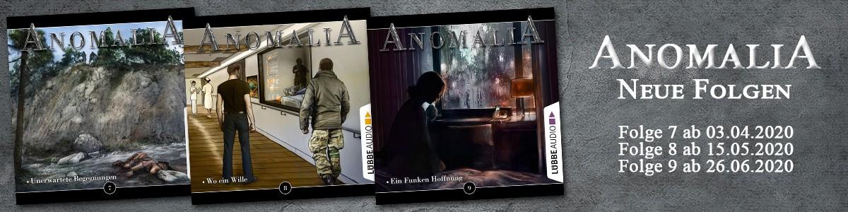 Anomalia - Folge 7, 8 und 9